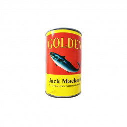 Golden Jack Mackerel 200g Tin