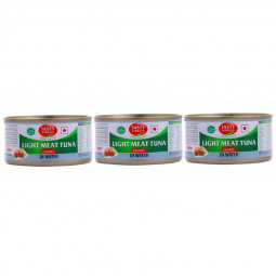 Tasty Nibbles Tuna Chunks in Water 170gx3