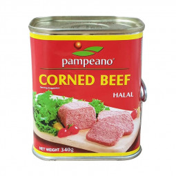 Pampeano Pampeano Corned Beef Square Pack 340g