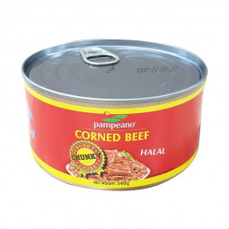 Pampeano Corned Beef Round Can 340g