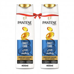 Pantene Pro-V Daily Care 2in1 Shampoo 400ml Twin Pack