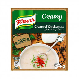 Knorr Packet Soup Cream of Chicken 54g Pack of 12