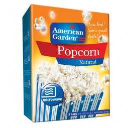 American Garden Pop Corn Natural 273g