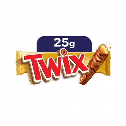 Twix Chocolate Bars Small 2 Pack