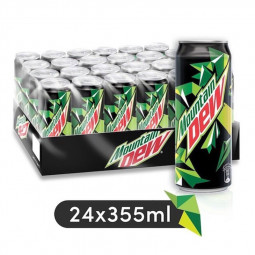 Mountain Dew Soft Drink Can 355ml Pack