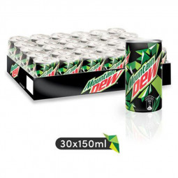 Mountain Dew Mini Tin 150ml Pack of 30