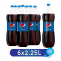 Pepsi Soft Drink 2.25L Pack of 6