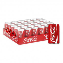 Coca Cola Mini Can 150ml Pack of 30