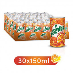 Mirinda Orange Mini Can 150ml Pack of 30