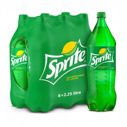Sprite Soft Drink 2.25L Pack of 6
