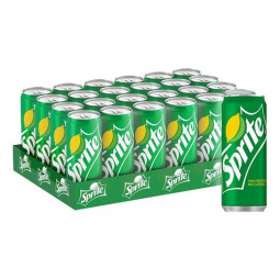 Sprite Soft Drink Can 330ml Pack of 24