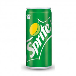 Sprite Carbonated Soft Drink Can 330ml