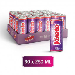 Vimto Fizzy Fruit Flavoured Drink Can 250ml Pack of 30