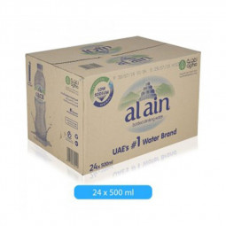 Al Ain Bottled Drinking Water 500ml Pack of 24