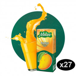 Melco Mango Flavored Drink 250ml Pack of 27