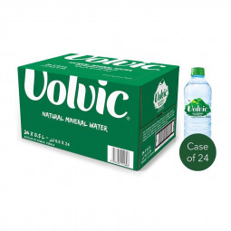 Volvic Natural Mineral Water 500ml Case of 24