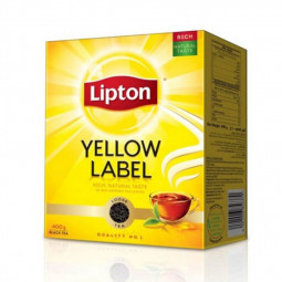 Lipton Yellow Label Black Tea Powder Loose 400g