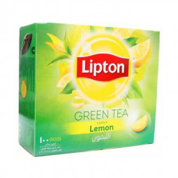 Lipton Green Tea Lemon 100 Tea Bags