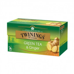 Twinings Green Tea Ginger 25 Tea Bags
