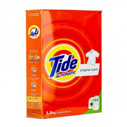 Tide Laundry Detergent Powder Original Scent 1.5kg