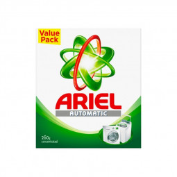 Ariel Concentrated Detergent Powder 260g