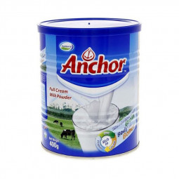 Anchor Full Cream Milk Powder Tin 400g