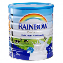 Rainbow Full Cream Milk Powder Tin 2.5kg