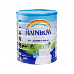 Rainbow Full Cream Milk Powder Tin 400g