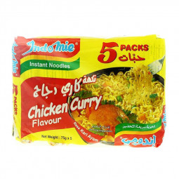 Indomie Noodles Chicken & Curry 75g Pack of 5