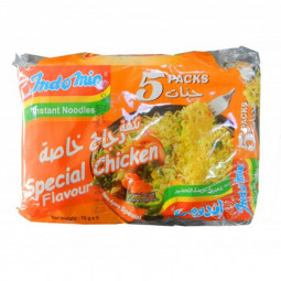 Indomie Noodles Special Chicken 75g Pack of 5