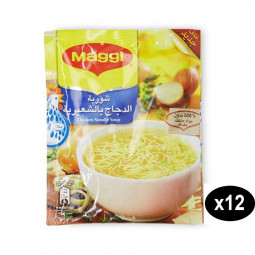 Maggi Chicken Noodle Soup 60g Pack of 12