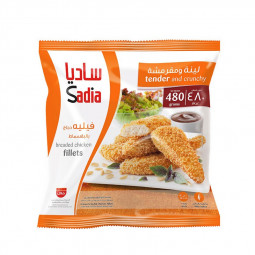 Sadia Breaded Chicken Fillets tender & Cruncy 480g