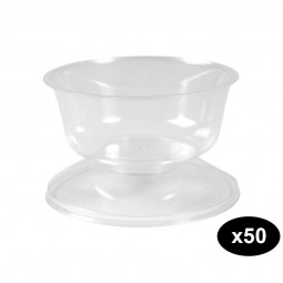 Falcon Clear Stefania Cup 200CC Pack of 50