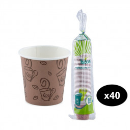 Falcon Paper Cup 4oz-50pcs Pack of 40