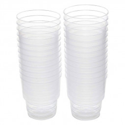 Hotpack Clear Disposable Plastic Glass 8oz
