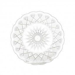 Hotpack Round Crystal Plate 24cm