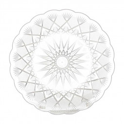 Hotpack Round Crystal Plate 27cm