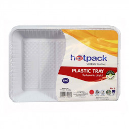 Hotpack Rectangle Plastic Tray No.5