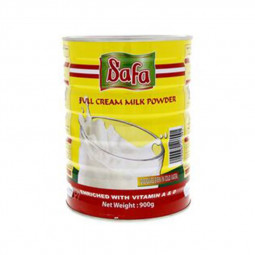 Safa Full Cream Milk Powder Tin 900g
