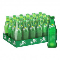 Sprite Soft Drink Glass Bottle 250ml Pack of 24