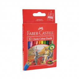 Faber Castell 12-Piece Classic Colour Pencils