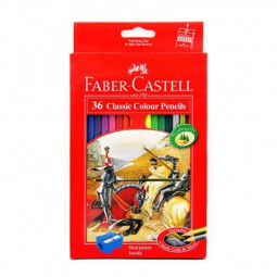 Faber Castell 36-Piece Classic Colour Pencils