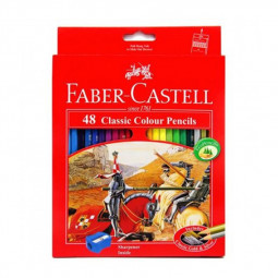 Faber Castell 48-Piece Classic Colour Pencils