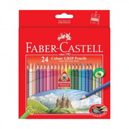 Faber Castell 24-Pieces Grip Colour Pencils