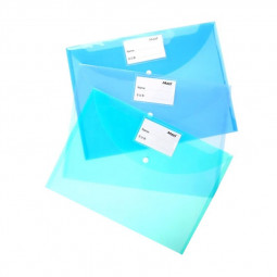 Clear Bag With Name Card Holder Assorted
