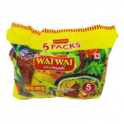 Wai Wai Chicken Flavored Noodles pack 75g