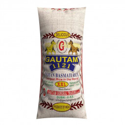 Gautam 1121 Indian Basmati Rice XXL 39kg