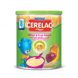 Nestle Cerelac Wheat & Fruit Pieces Cereal 400g