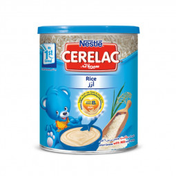 Nestle Cerelac Rice Cereal Baby Food 400g