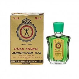 Gold Medal Medicated Oil 3ml No.3